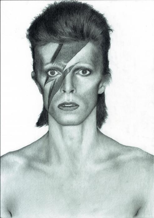 David Bowie by taro